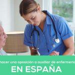 ¿Cómo preparar su oposición a Auxiliar de Enfermería?