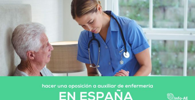 Hacer Una Oposicion Auxiliar De Enfermería