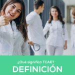 ¿Qué es TCAE? 1 Técnico en Cuidados Auxiliares de Enfermería