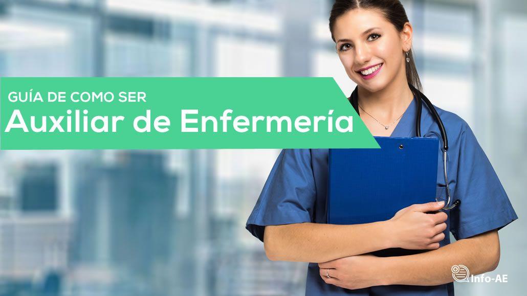estudiar Auxiliar de Enfermeria